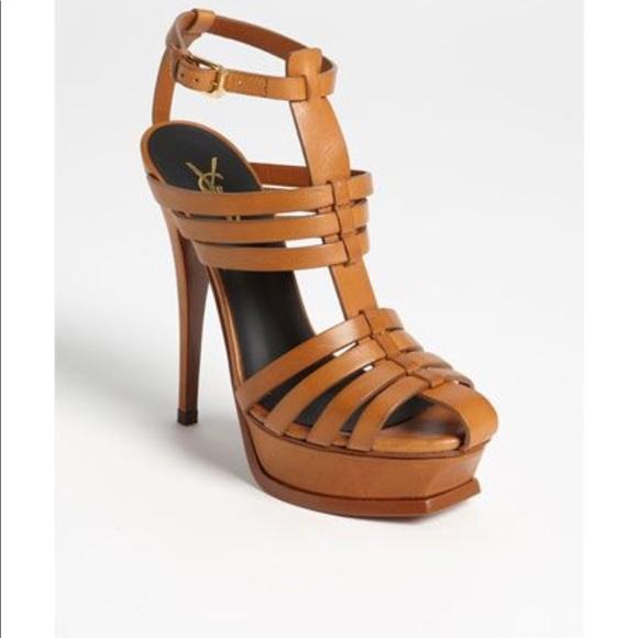 cfe0d3c8c6e Yves Saint Laurent Shoes | Ysl Tribute Gladiator Sandals | Poshmark